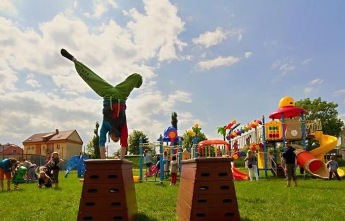 pakrour workshop pro děti v areálu skalak family park ostrava
