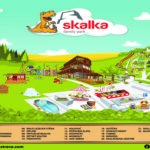 SKalka - mapa areálu